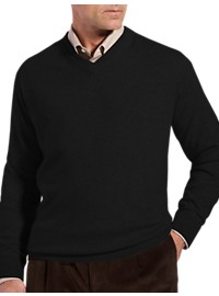 Rochester Cashmere V-Neck Sweater