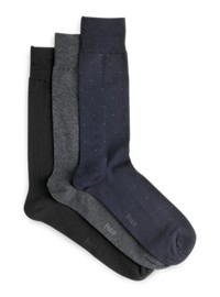 Polo Ralph Lauren 3-pk Patterned Socks