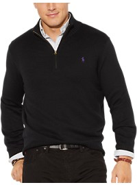 Polo Ralph Lauren Half-Zip Cotton Sweater