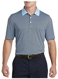 Cutter & Buck CB DryTec Trevor Stripe Polo Shirt