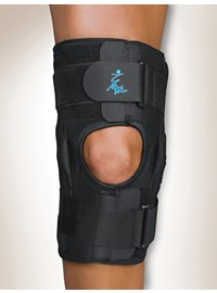 Med Spec Gripper 12 in. CoolFlex Hinged Knee Brace