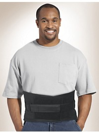 Med Spec Back-n-Black Support Brace