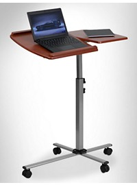 Flash Furniture Adjustable Mobile Laptop Computer Table