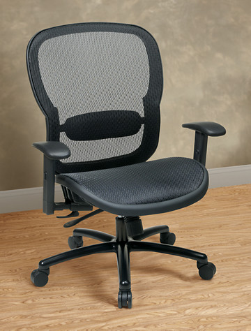 Big & Tall Office Star 174 SPACE Mesh Executive Office Chair