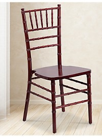 Elegance Wood Stacking Chiavari Chair