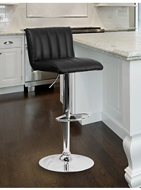 Vinyl Adjustable Bar Stool