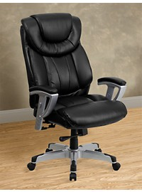 Hercules LeatherSoft Office Chair with Arms